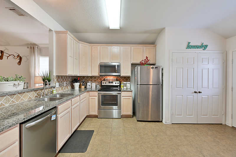 1 Story Duplex - Kitchen